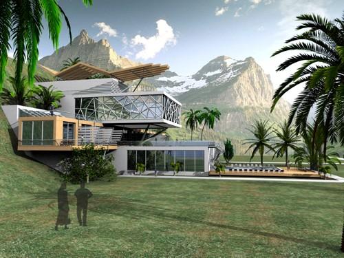 Проект трехэтажного